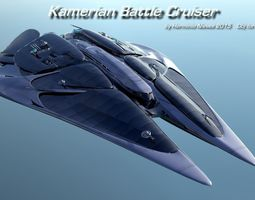 3d kamerian battle cuiser