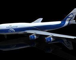 3D asset Boeing 747-400 model