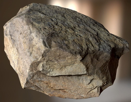 unity 3D asset game-ready PBR Rock