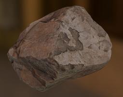 3D asset Rock