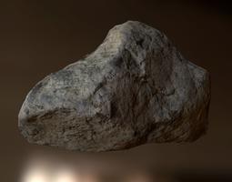Rock 3D asset realtime