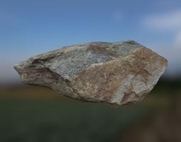 3D asset game-ready Rock