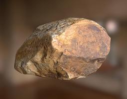 3D asset VR / AR ready Rock