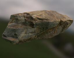 Rock 3D asset game-ready PBR