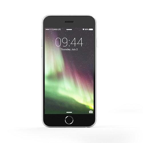 black smartphone 3d model max obj fbx c4d mtl 1