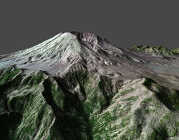 3D Mt ST Helens