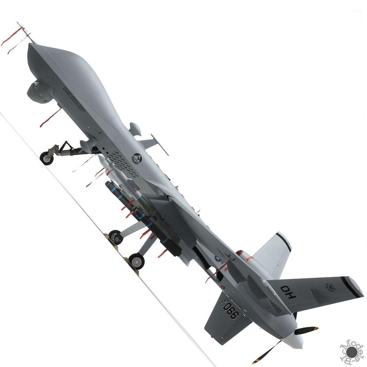 MQ-9 Reaper Military Aircraft Drone