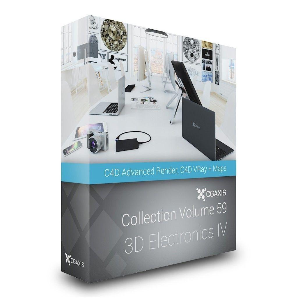 3D Electronics IV CGAxis Models Volume 59 C4D | 3D model