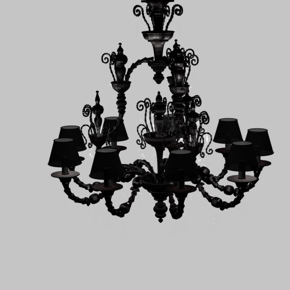 3D sia Chandelier | CGTrader