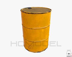 Oil Barrel PBR 3D asset