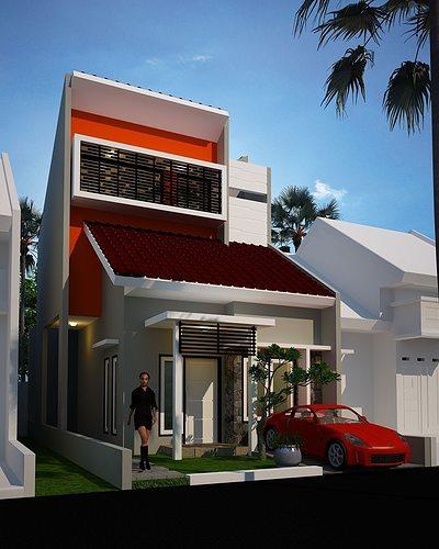 3d Exterior House Designs: Mr Wahyu Pras House 3D Model