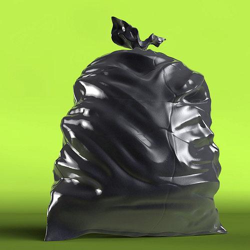 trash bag 3d