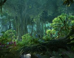 3D Forest Sence 5