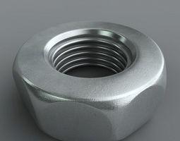 3D model Metal Nut