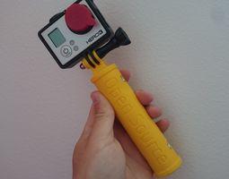 GoPro Hand Grip 3D print model