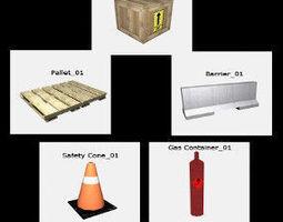 3D model 3TD Industrial Pack