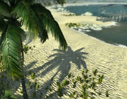 Tropical Environment Pack v2 3D model