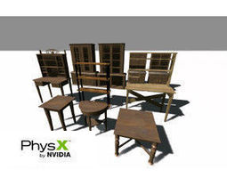 3D model 3TD Furniture Pack