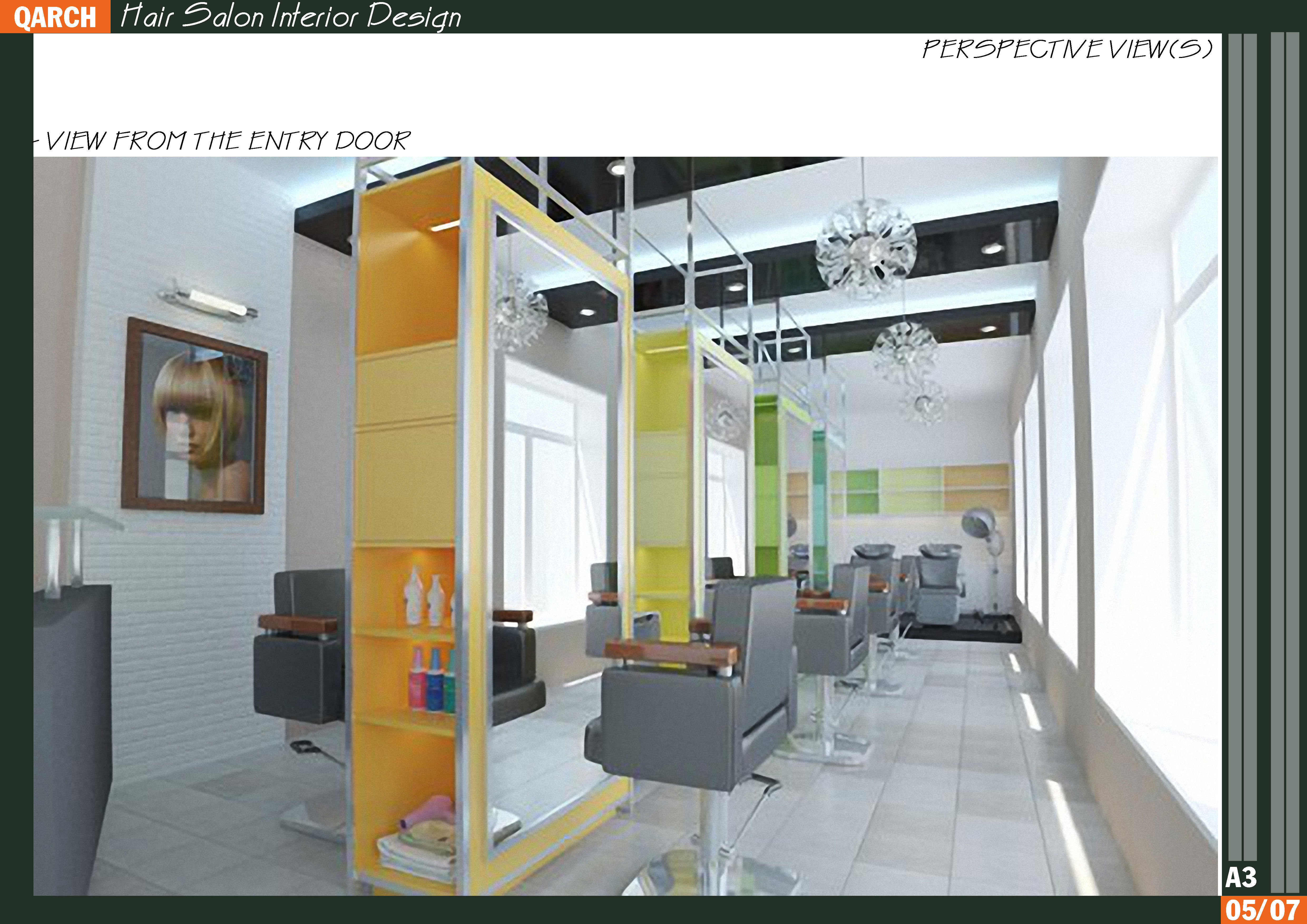 4 hair salon interior design 3d model max 3d interior design online