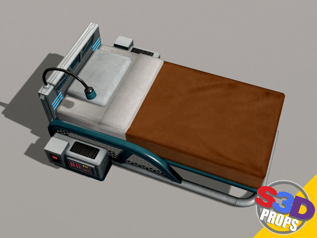 scifi bed