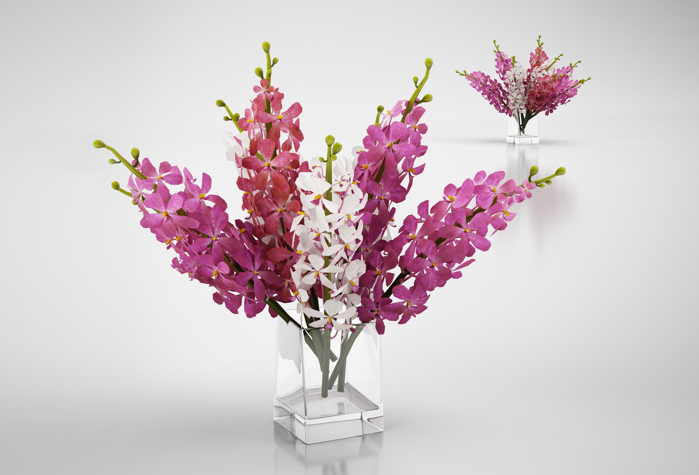 3d модели растений, цветков для 3ds max