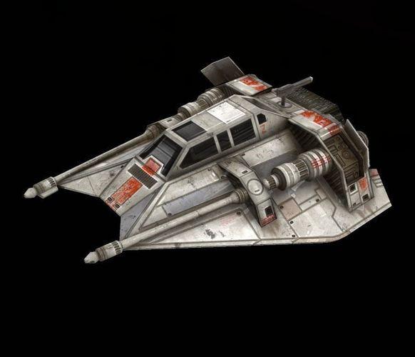 star war t47 game res model 3d model low-poly obj tga 1