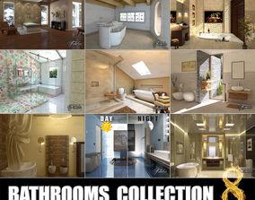 design 3D model Bathrooms collection