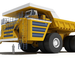 Belaz 75710 Mining Truck 3D Model