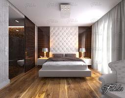3D model Bedroom 12 and Bath