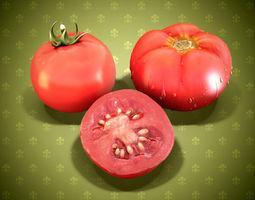 3D Tomatoes dinner