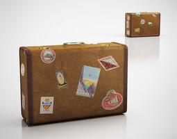 3D model Vintage suitcase