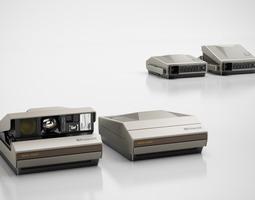 3d model classic camera