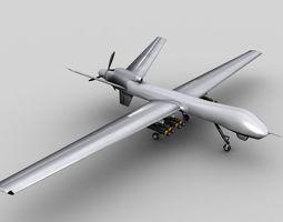 MQ 9 UAV Predator Reaper Drone 3D model