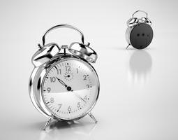 Alarm clock model 3D