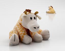 3D Plush giraffe