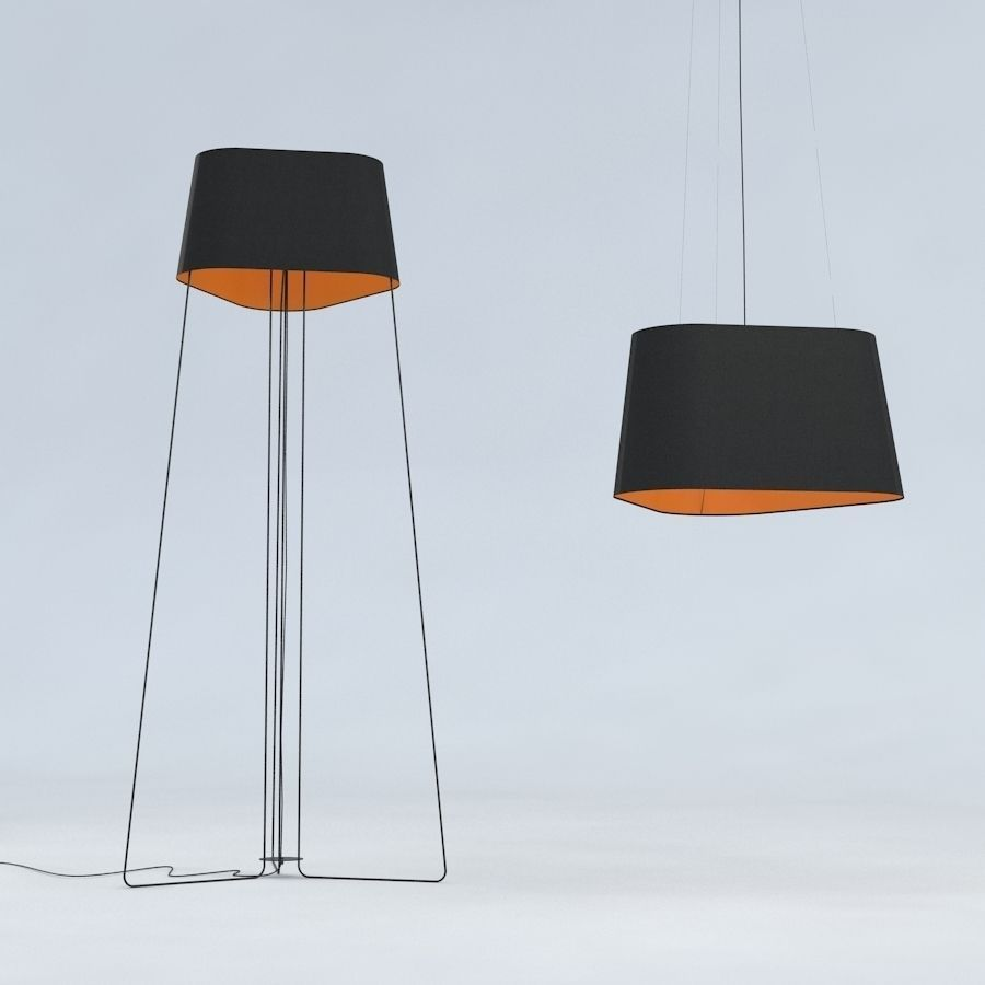 Floor lamp and hanging lamp trinitas by dogg design 3d model max obj floor lamp and hanging lamp trinitas by dogg design 3d model max obj fbx mtl tga aloadofball Images