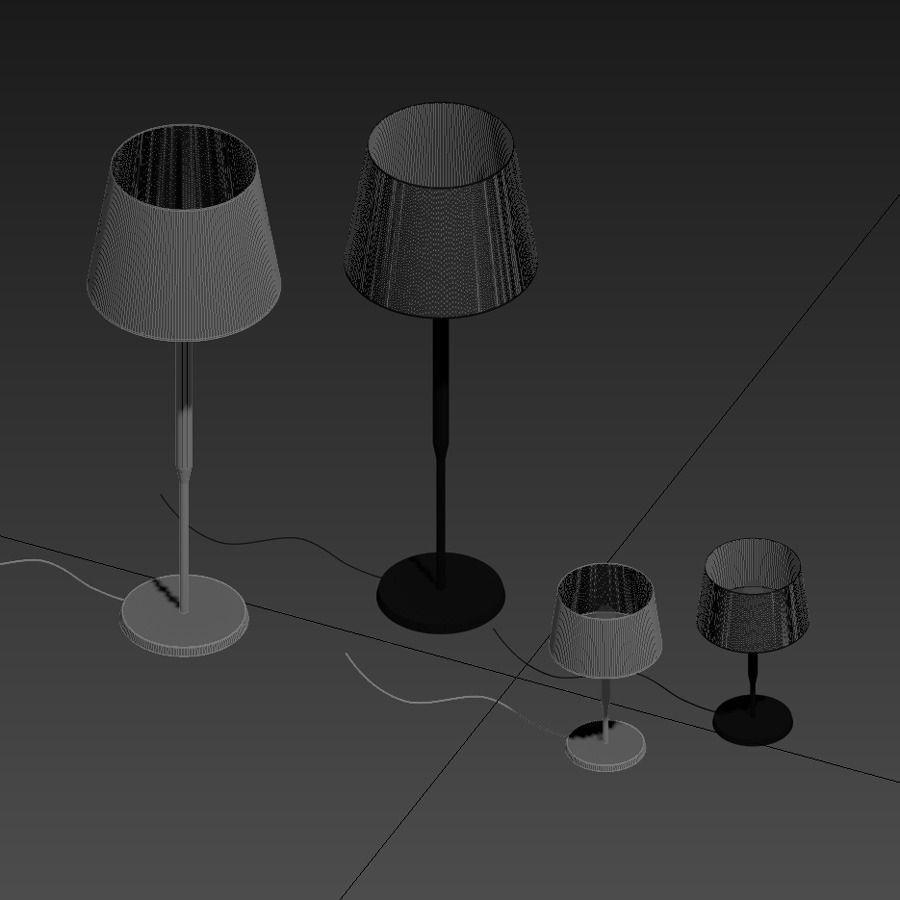 Floor lamp et reading light dorset by eric 3d model max for Reading lamp floor model