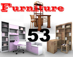 3D model 46 Classic Furnitures Collection