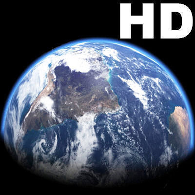 Incredible HD Earth Planet - 3d model