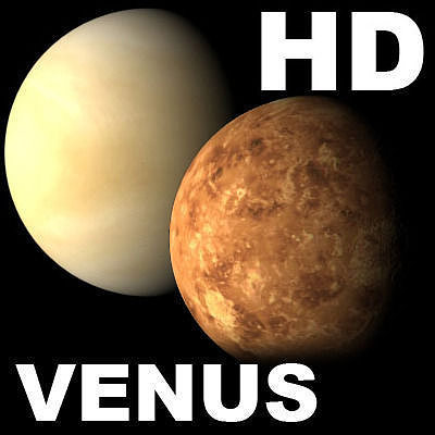 Incredible hd venus planet 3d model cgtrader voltagebd Image collections