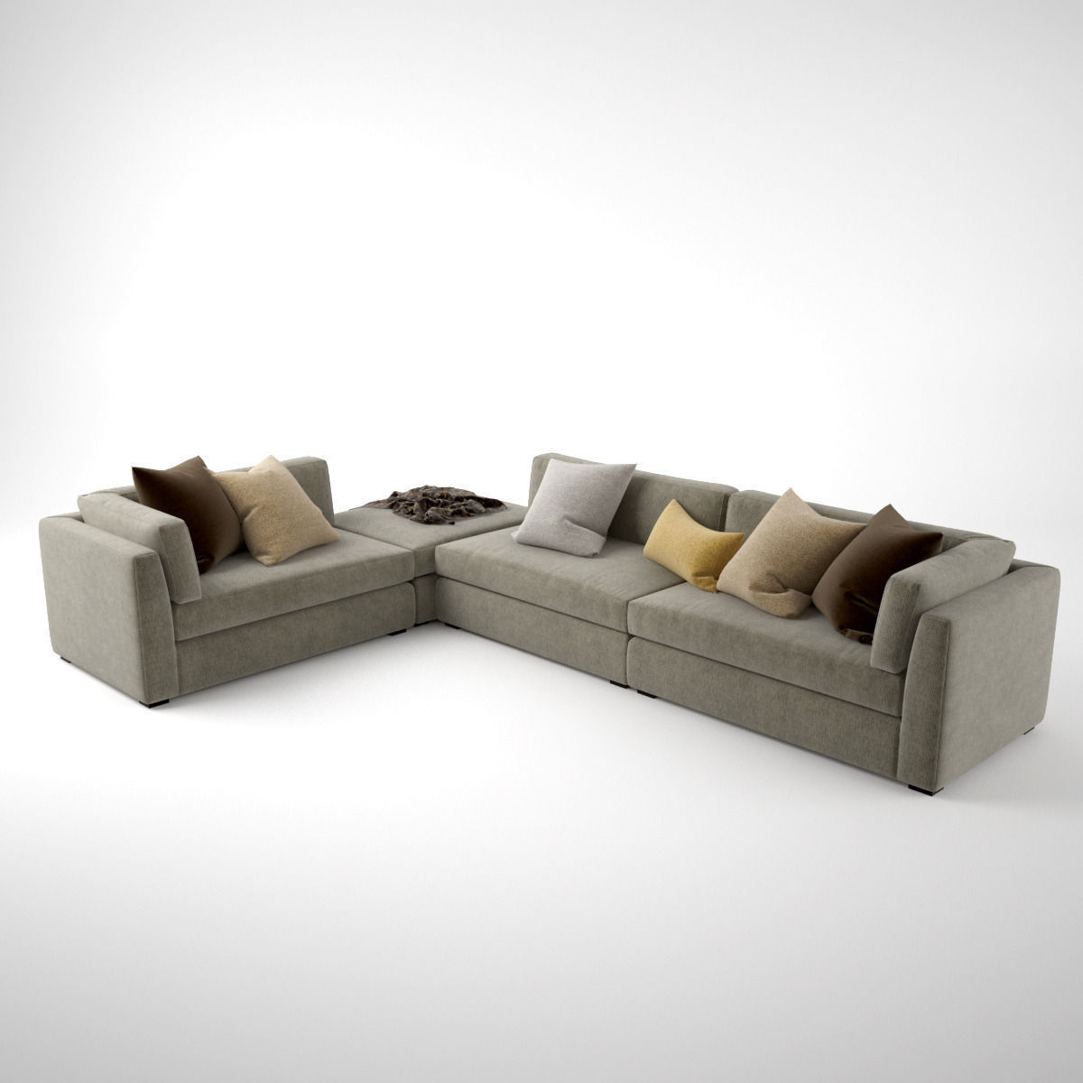corner with hamlin base viesso chaise sectional