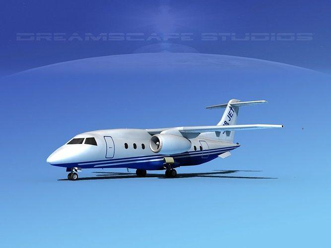 dornier 328jet dornier 3d model max obj 3ds lwo lw lws dxf stl 1