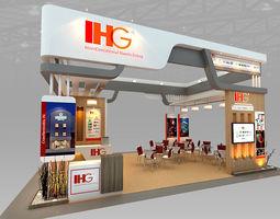 3D IHG Hotel Booth Design