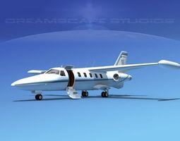 Dreamscape AT-48 Jet Executive V02 3D model