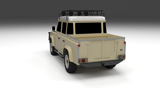 land uncrate defender truck cab rover landrover cars double pickup kahn