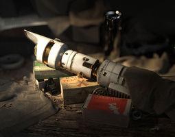 3D model Lightsaber vader