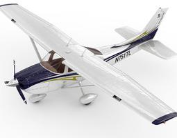 3D Cessna 182 Skylane
