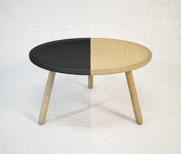 tablo table by normann copenhagen 3d model max obj mtl fbx 1