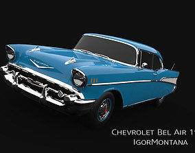 3D Chevrolet Bel Air 1957