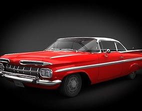 3D model Chevrolet Impala 1959